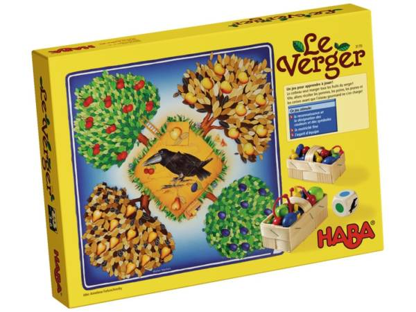 Le Verger, un jeu de coopération Haba