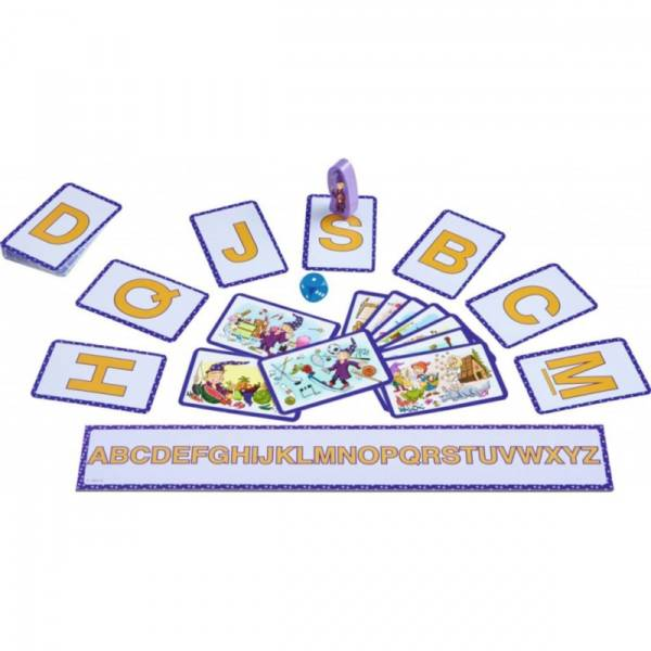 L'alphabet magique, un jeu Haba