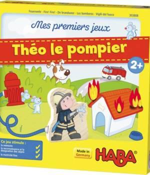 Théo le pompier, de la gamme Haba