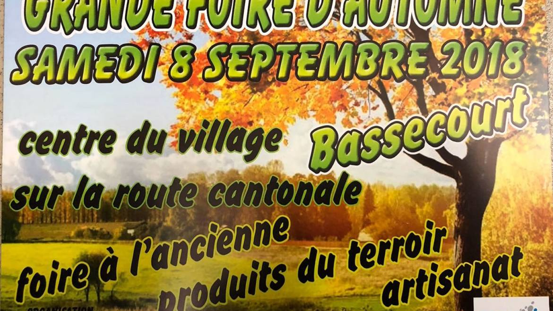 Rendez-vous le 8 septembre à Bassecourt !