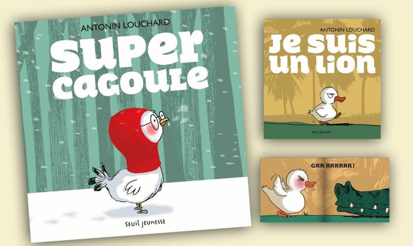 Antonin Louchard sort «Super Cagoule» :  il est HYPER DRÔLE !