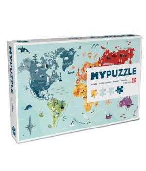 My puzzle monde de Helvetiq