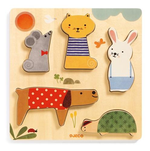 Puzzle en bois de Djeco