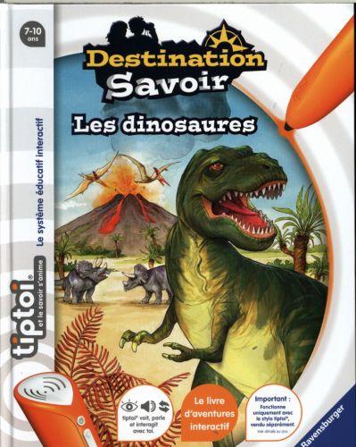 Les Dinosaures Livre Tiptoi