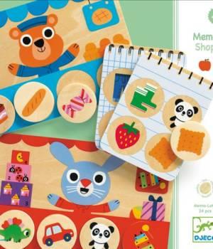 Memo Shop, un jeu Djeco