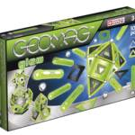 Geomag Panels Glow 104 pcs, jeu magnétique