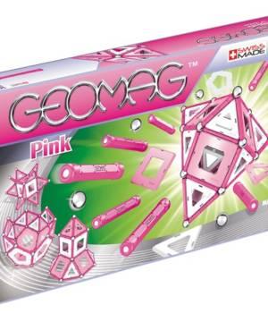 Geomag Pink 104 pcs, jeu magnétique