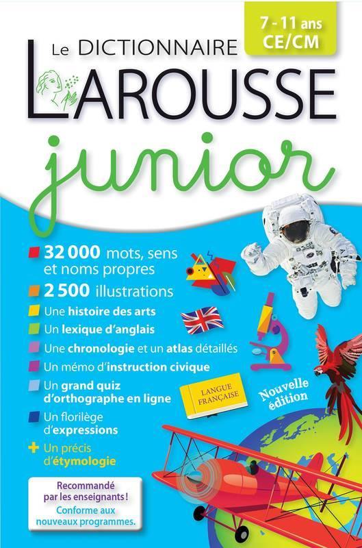 Dictionnaire Larousse junior 7-11 ans