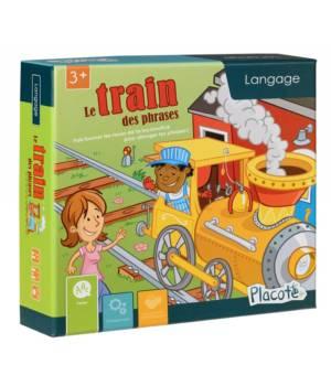 Le train des phrases, un jeu de langage aux éditions Placote