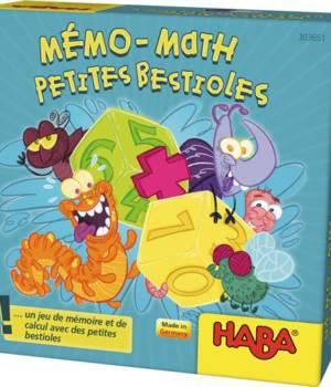 Mémo-math des petites bestioles, Haba