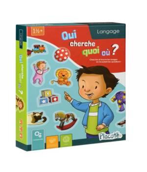 Qui cherche quoi ou, un jeu de langage aux éditions Placote