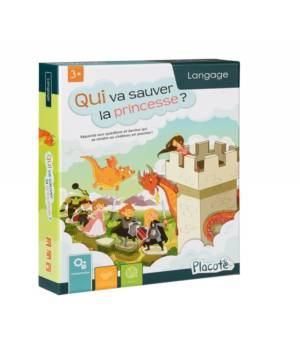 Qui va sauver la princesse, un jeu de langage aux éditions Placote