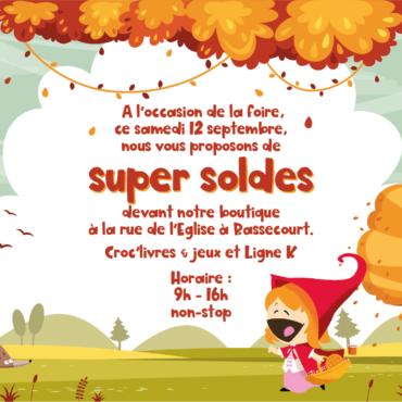 Foire d'automne – 12 septembre 2020